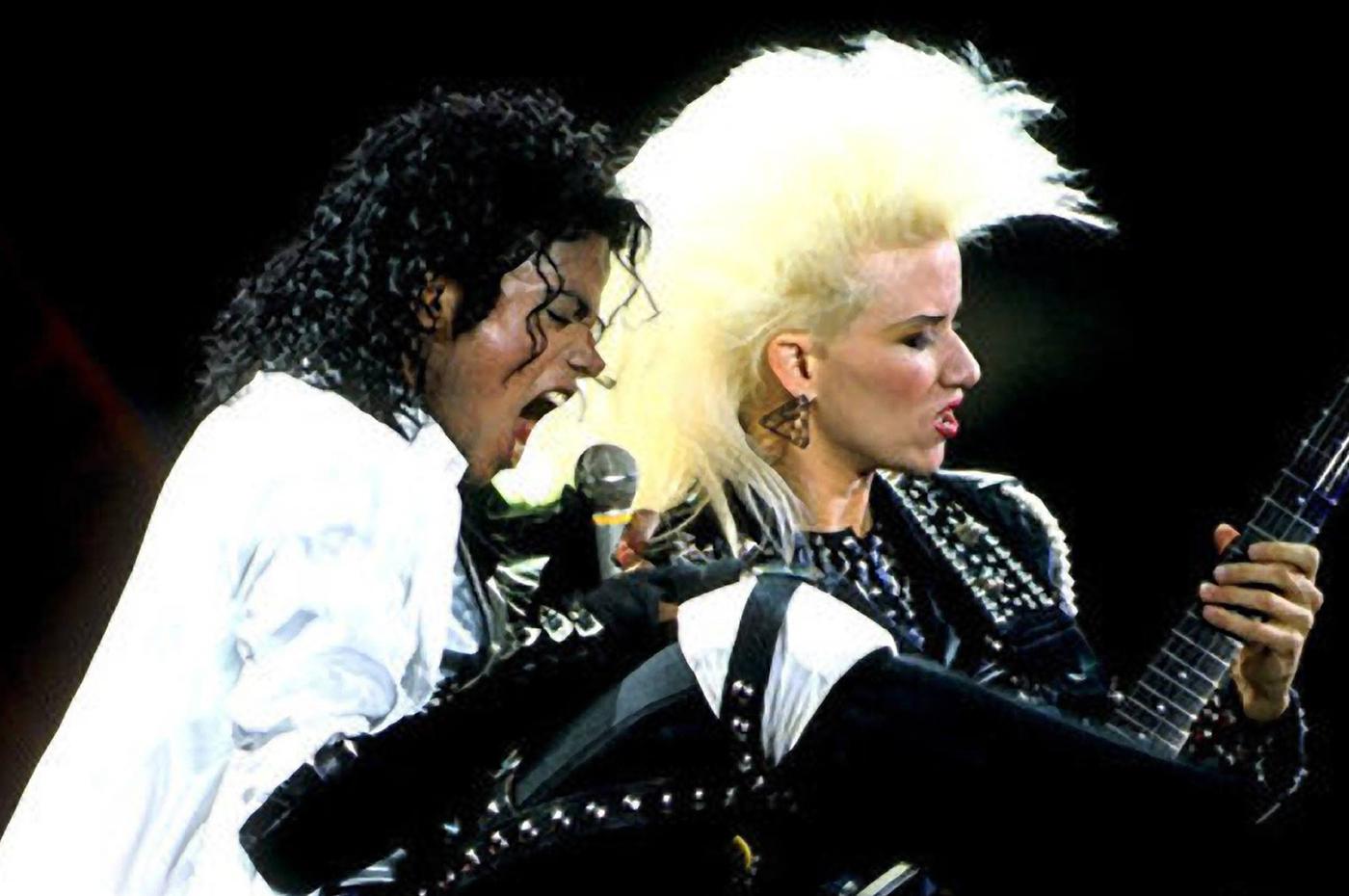 Jennifer Batten la exguitarrista de Michael Jackson