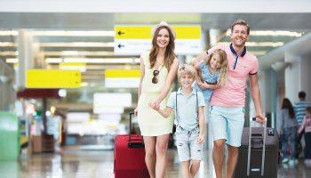 air femme viajar con niños