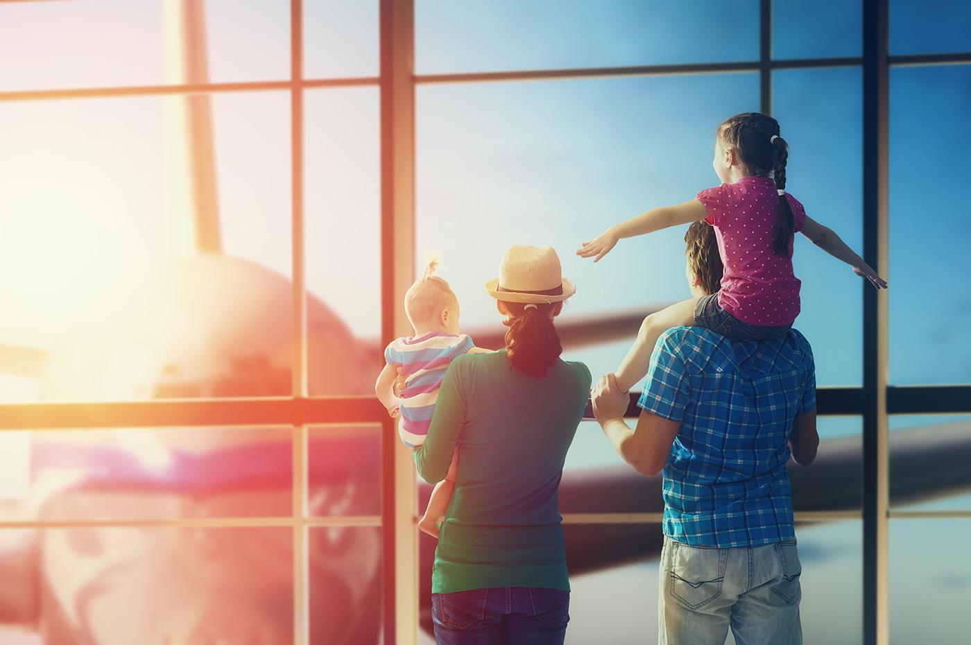 De viaje al extranjero con menores de edad