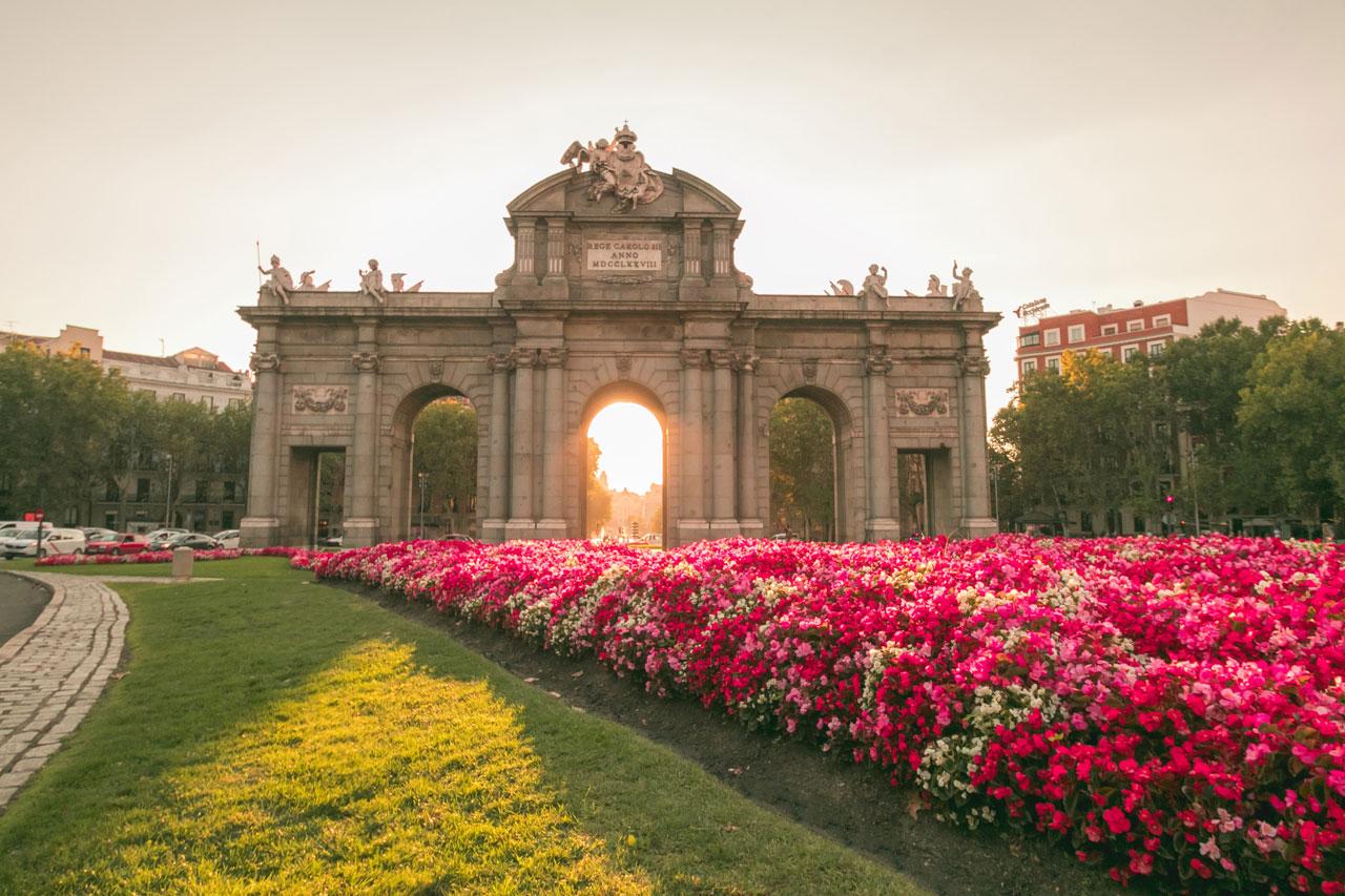 Madrid Puerta de Alcalá